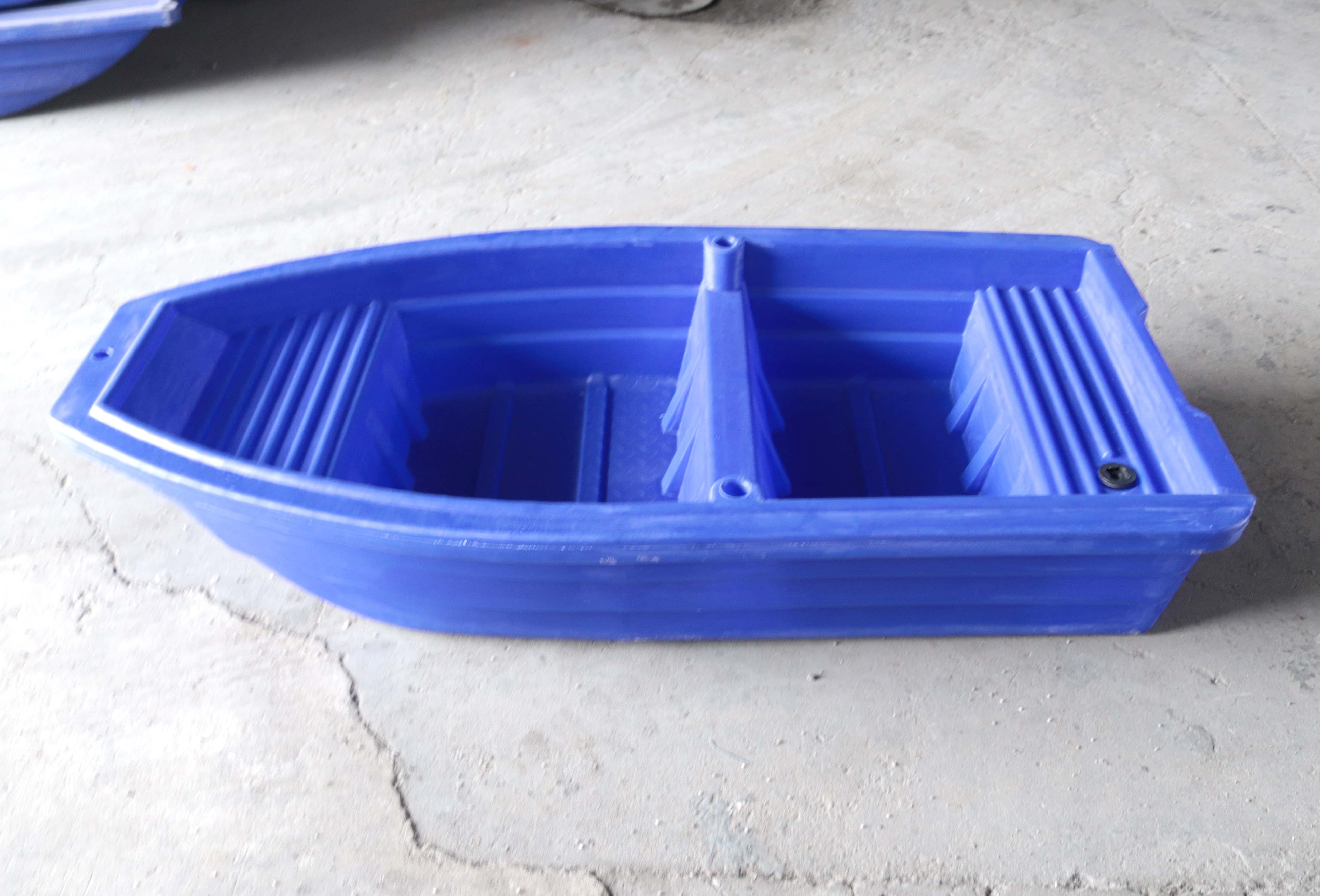 新更图,2米塑料渔船工厂美照!