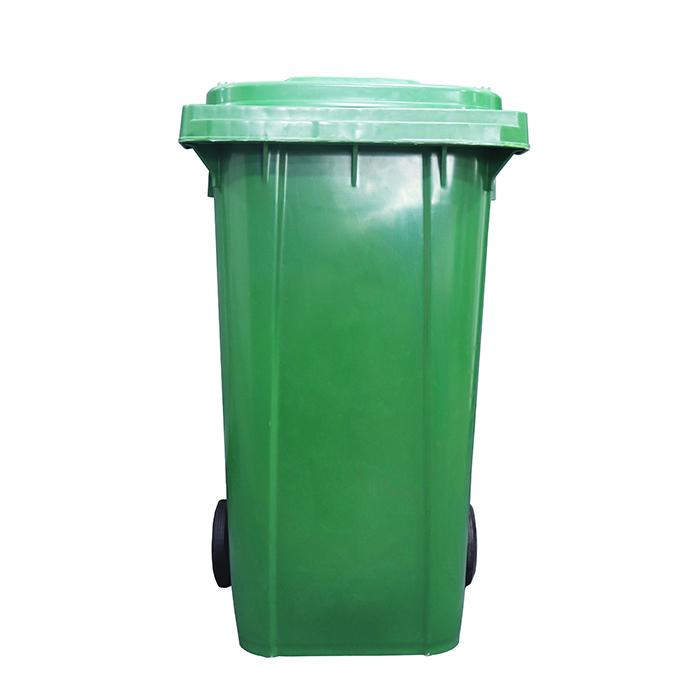 特厚240L垃圾桶A型(挂车专用垃圾桶)