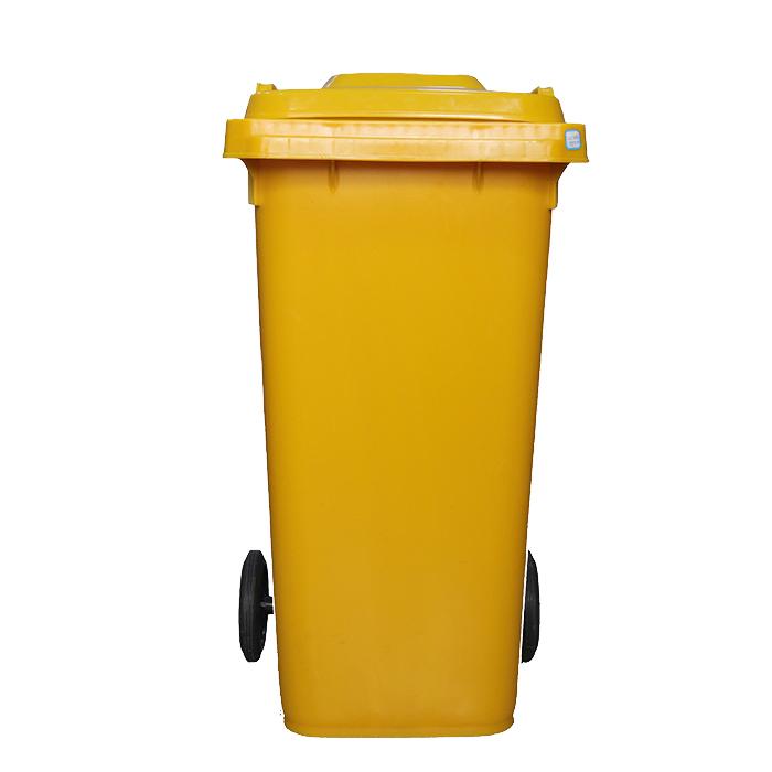 加厚120L垃圾桶(挂车专用垃圾桶)